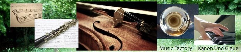 作曲,編曲,採譜,耳コピ楽譜制作のKanon Und Gigueタイトル1